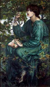 The Daydream, 1880, by Dante Gabriel Rossetti.