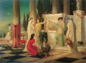 Temple of Vesta (1902), by Constantin Hölscher.