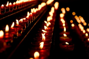 Candles lit for blessings Photo from Flickriver