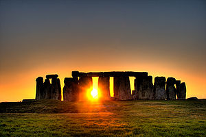Sunlight at Stonehenge Photo from Wikipedia