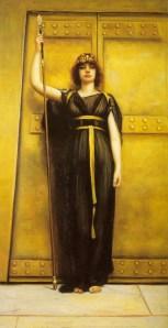 The Priestess (1895), by John William Godward. Image courtesy of WikiCommons.