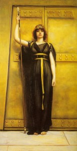 The Priestess (1895), by John William Godward. Image courtesy of WikiCommons.