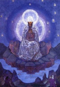 Mother of the World, by Nicholas Roerich [Roerich Museum, NYC]