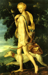 Diana (Artemis) the Huntress, 16th Century, School Of Fontainebleau