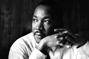 The Rev. Dr. Martin Luther King, Jr. [Photo from Seattle Times archive]