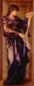 Sybil, by the artist Edward Coley Burne-Jones