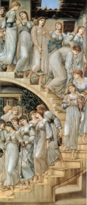 The Golden Stairs, by Edward Burne-Jones, 1876-80