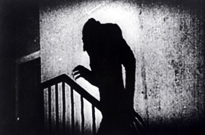 A still from the classic film Nosferatu (1922)