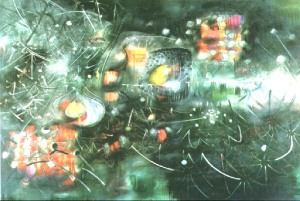 To Give Painless Light, by Roberto Matta (11/11/1911 - 11/23/2002)