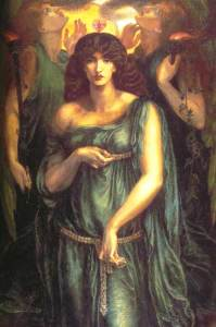 Astarte Syriaca, 1877 by Dante Gabriel Rossetti. Image courtesy of WikiCommons.