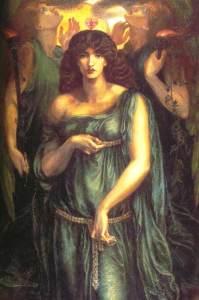 Astarte Syriaca, 1877 by Dante Gabriel Rossetti. Image courtesy of WikiCommons.