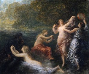 Tannhauser in the Garden of Venus, by Henri Fantin-Latour, 1886 [Image: WikiCommons]