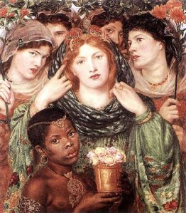 The Beloved (1865-66) by Dante Gabriel Rossetti (Tate Gallery, Image courtesy of WikiCommons)