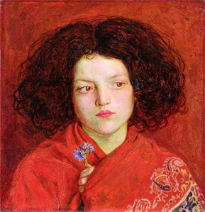 The Irish Girl (1860), by Ford Madox Brown