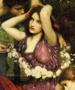 Flora, by John William Waterhouse