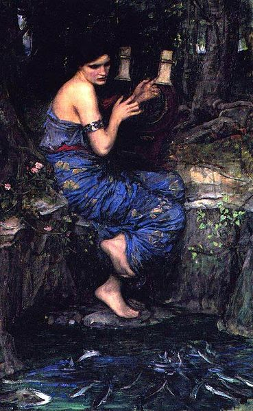 The Charmer (1911), by John William Waterhouse.