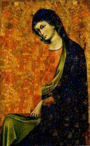 """Madonna Between the Veils,"" Giovanni de Canali"
