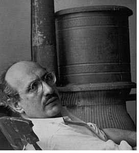Mark Rothko in his West 53rd Street studio, c. 1953, photograph by Henry Elkan, courtesy Archives of American Art, Smithsonian Institution, Rudi Blesh Papers