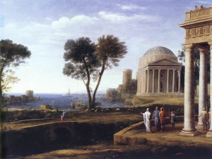Landscape With Aeneas at Delos (1672), by Claude of Lorrain