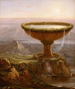 The Titan's Goblet (1833) by Thomas Cole. Public domain image courtesy of Wikimedia.