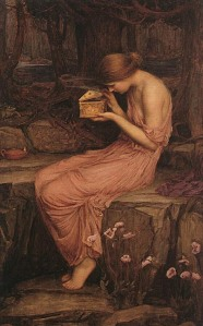Psyche Opening the Golden Box (1903), by John William Waterhouse (Image courtesy of WikiCommons)
