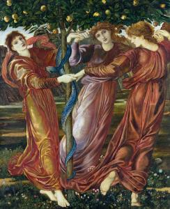 The Garden of the Hesperides (1869-73), by Edward Burne-Jones.