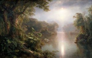 El Rio de Luz (The River of Light, 1887), by Frederic Edwin Church. Photo courtesy of WikiCommons.