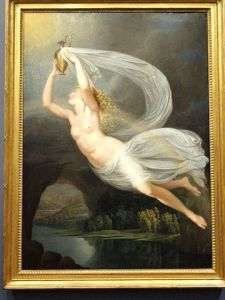 Iris Carrying the Water Across the River Styx to Olympus for the Gods to Swear By, by Guy Head (1793)