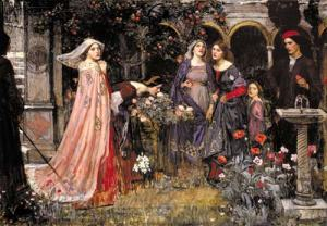 The Enchanted Garden (1916-17), by John William Waterhouse. Lady Lever Gallery.