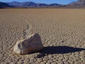 Racetrack Playa in Death Valley. Photo courtesy of PD Photo (Creative Commons)