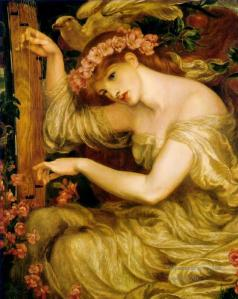 A Sea Spell, 1877, by Dante Gabriel Rossetti. Image courtesy of WikiArt.