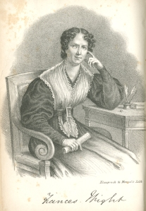 "Frances ""Fanny"" Wright (1795-1852)."