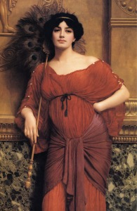 A Roman Matron, 1905, by John William Godward.