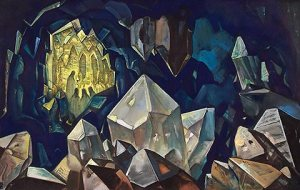 Most Sacred -Treasure in the Mountains, by Nicholas Roerich (Roerich Museum, NYC)