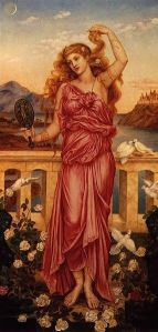 Helen of Troy, 1898, by Evelyn De Morgan.