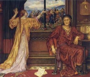 The Gilded Cage, 1919, by Evelyn Pickering De Morgan.