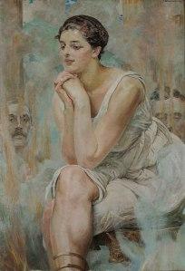 Pythia, 1917, by Jacek Malczewski.