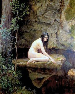 The Water Nymph, by John Collier.