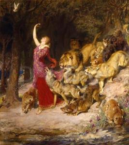 Aphrodite, 1902, by Briton Rivière (1840-1920).