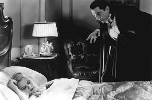 Bela Lugosi as Dracula, 1933.