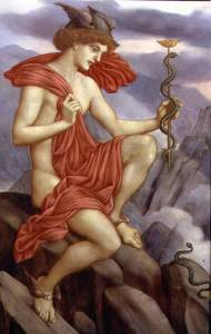 Mercury, by Evelyn Pickering De Morgan. The De Morgan Centre, London. Public domain.