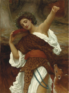 Bacchante, c. 1892, by Frederic, Lord Leighton.