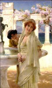 A Difference of Opinion, 1896, by Sir Lawrence Alma-Tadema.