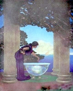 Circe's Palace, by Maxfield Parrish (1938). You'll find an original Divinely Feminine audio program on Circe's Magic in the Academy of the Divine Feminine.