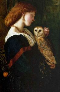 Il Barbagianni, The Owl, by 1862, Valentine Cameron Prinsep.
