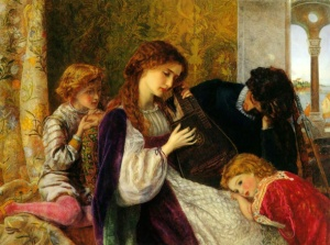 A Music Party, 1861, Arthur Hughes.