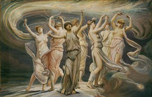 The Pleiades, 1885, by Elihu Vedder.