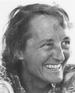 Elisabeth Kübler-Ross (July 8, 1926 – August 24, 2004). Image courtesy of Polyfilm.at.