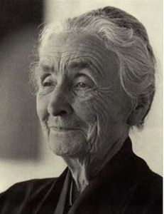 The American Artist Georgia O'Keeffe (1887-1986)