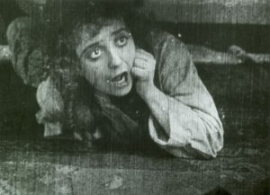 Mabel Normand in the 1914 Chaplin film, Mable's Strange Predicament. Image is public domain and courtesy of Wikipedia.